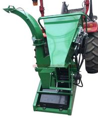 China 15hp 3 Point Hitch Shredder 45° Cutting Angle Hydraulic Feeding With Shear Bolt supplier