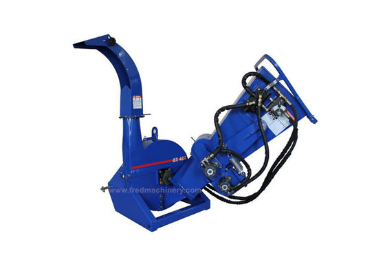 China 4 Inch Capacity 3 Point Pto Chipper , BX42R Tractor Pto Shredder Mulcher supplier