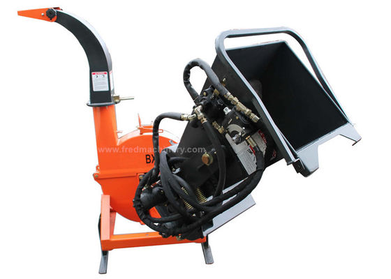 China High Performance 4 Inch Wood Chipper , Heavy Duty Chipper Shredder supplier