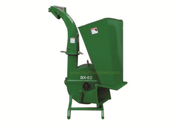 China Custom Color Residential Wood Chipper With 3 Point Hitch Mounting System supplier