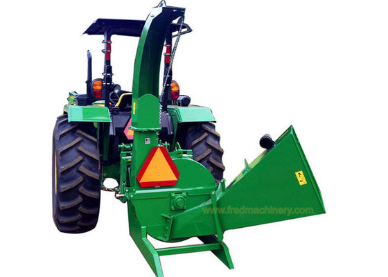 China BX62 Self Feeding Compact Tractor Wood Chipper Shredder 3 Point Hitch Mounting System supplier