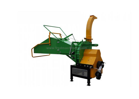 China WC 8M Self Feeding 3 Point Pto Wood Chipper With Durable Chromium CR - 12 Knife supplier