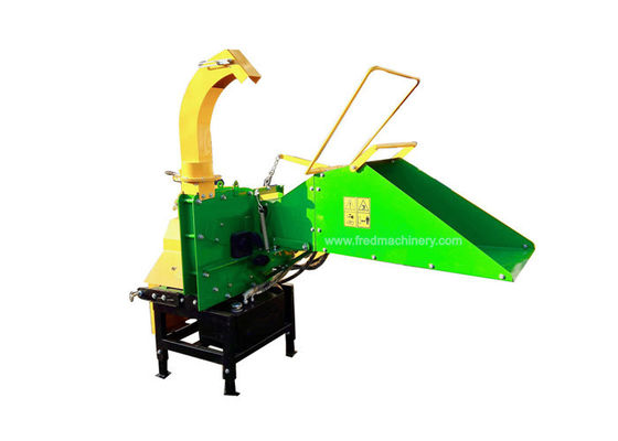 China 25 - 55HP Tractor PTO Driven Wood Chipper With Hydraulic Feeding System supplier
