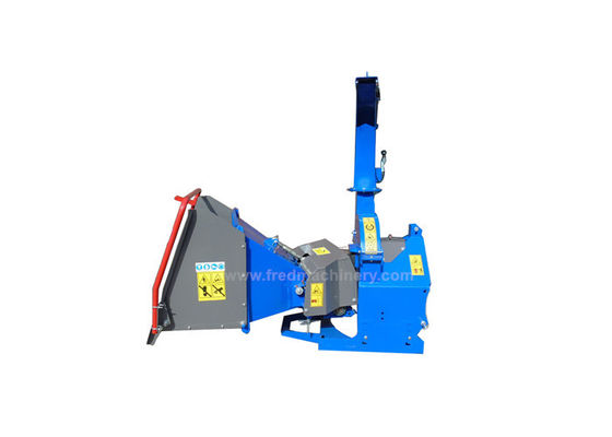 China 5 Inch Compact Tractor Supply Wood Chipper For Two Horizontal Rollers supplier
