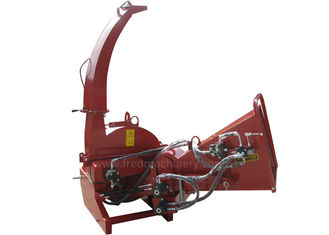China Direct Drive Pto Chipper Shredder With Hydraulic System And Oil Tank supplier
