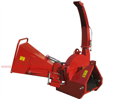 China 9 Inch Three Point Hitch Wood Chipper Shredder Pto Driven Hydraulic Feed supplier