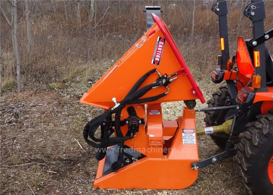 China 19 - 55 HP Power Take Off Wood Chipper , Mechanical Wood Chipper CE Certification supplier