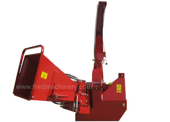 China BX62RF 6 Inch Hydraulic Wood Chipper 30 - 100 HP With 4 Cutting Knives supplier