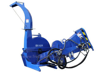 China BX92R Hydraulic Driven Wood Chipper , 9 Inch 3 Pt Hitch Chipper Shredder supplier