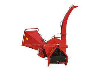 China BX62RF Hydraulic Feed Wood Chipper , 30 - 100HP Tractor Pto Mounted Chipper supplier