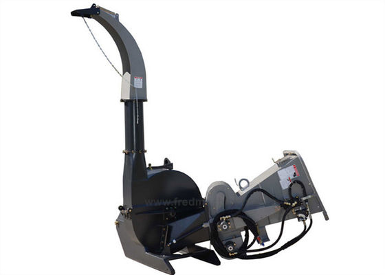 China Direct Drive 9 Inch Wood Chipper 3 Point Hitch 65 - 100HP 320mm Knife Length supplier