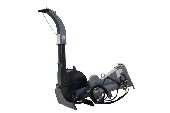 China BX92R Hydraulic Feed 9 Inch Wood Chipper With 4 Reverse Blades CE Certification supplier