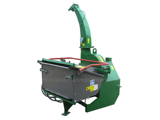 China Professional Home Wood Chipper With Heavy Duty Rotor Four Cutting Knives supplier