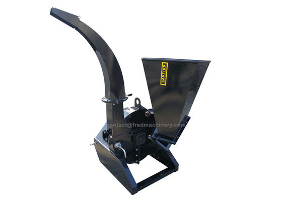China 18 HP Tractor Powered Wood Chippers With Direct Drive System 360 Degree Discharge Chute Rotation supplier