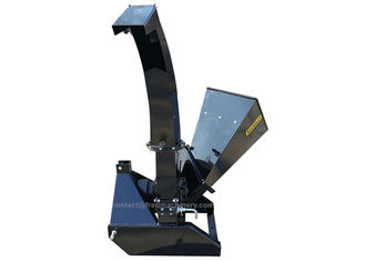 China 1 Bed Blade Self Feeding Chipper Shredder Three Point Hitch Mounting System supplier