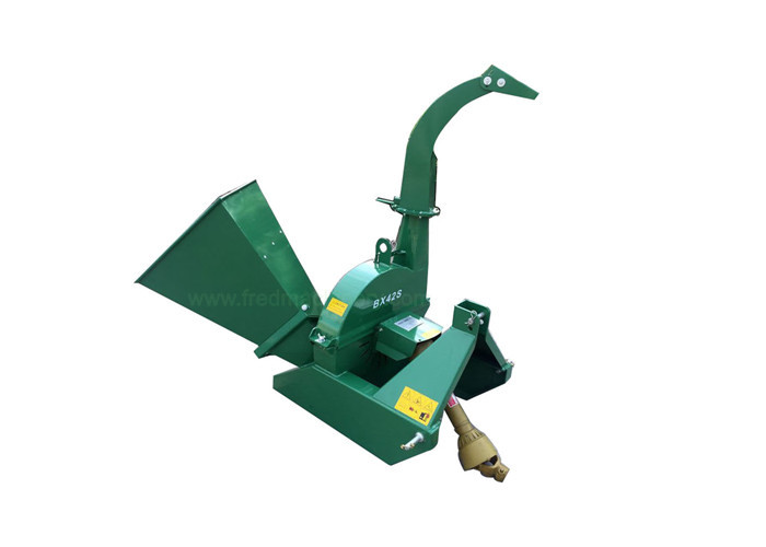 3 Point Hitch 20 Hp Wood Chipper Self Feeding With Hardened Tool Steel Knife
