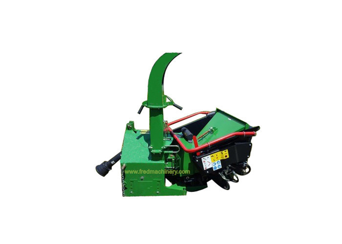 PTO Shaft 3pt Hitch Wood Chipper With 20L Hydraulic Tank High Performance