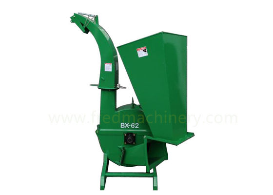 Farm Household Wood Chipper , Industrial Wood Chippers And Shredders