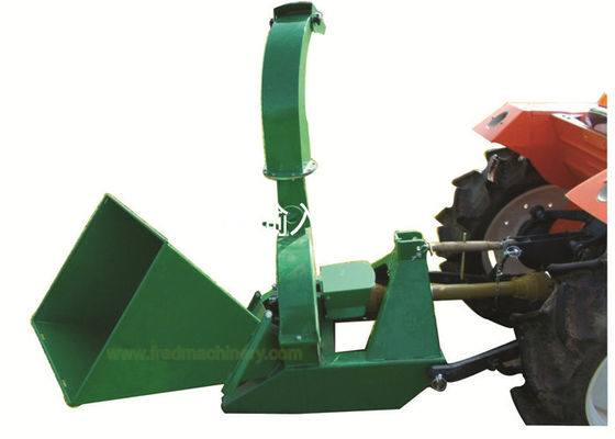 30 - 100 HP 6 Inch Chipper Shredder , 3 Point Hitch Home Wood Chipper