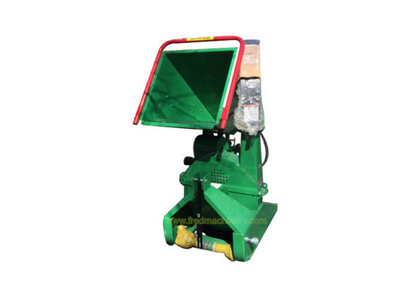 "8"" Commercial Wood Chipper , Hydraulic Feeding Compact Wood Chipper"