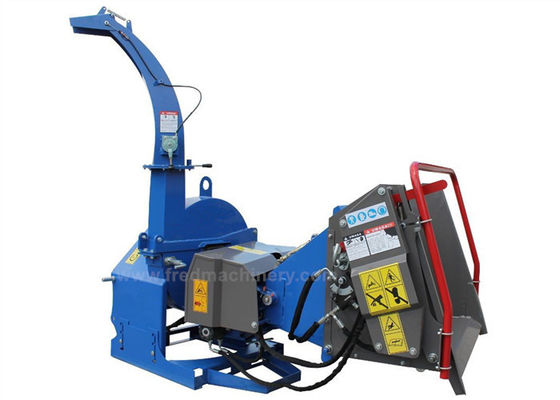 4 Cutting Knives Tree Shredders Chippers , Hydraulic Pto Wood Chipper
