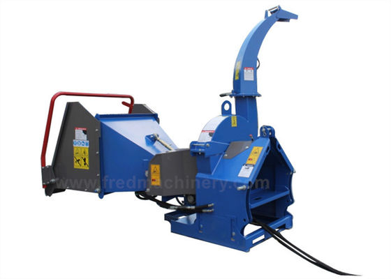 30 - 70HP 5 Inch Chipper , Wood Chipper And Shredder With Adjustable Base
