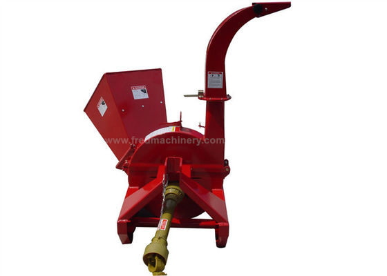 Shear Bolt PTO Shaft 3 Point Wood Chipper With 360 Degrees Discharge Chute