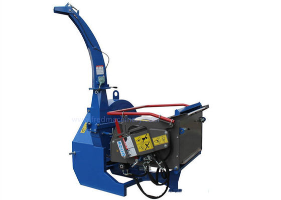 PTO Drive 7 Inch Wood Chipper High Performance With Hydraulic Oil Tank