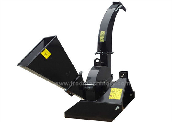 Self Feeding 3 Point Wood Chipper Shredder Direct Drive With 2 Years Warranty