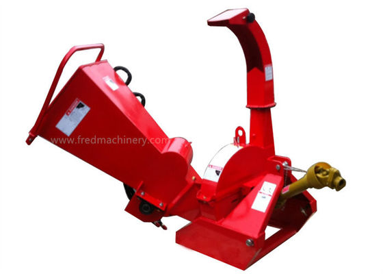 BX42R PTO Driven Wood Chipper Shredder 4 Reversible Blades With Hydraulic System