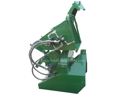 95kg Weight Flywheel 3 Point Wood Chipper With 8 Inch Chipping Capacity