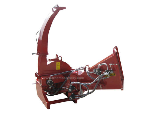 Direct Drive System 6 Inch Wood Chipper Matching 30 - 100HP Tractor
