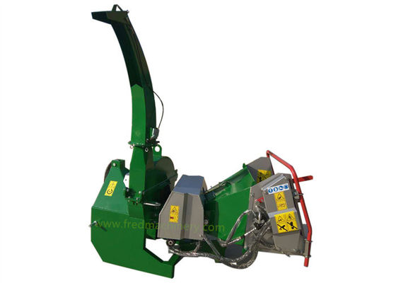 Hydraulic 7 Inch Wood Chipper With 360 Degrees Adjustable Discharge Chute