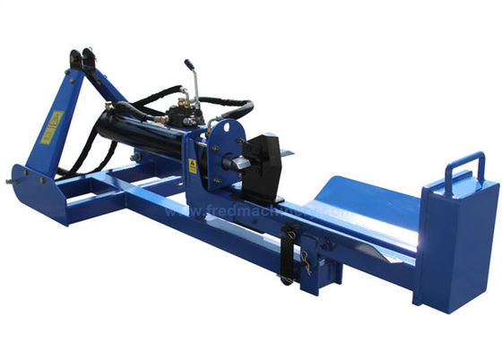 4 Inch Tractor Mounted Log Splitter , Three Point Hitch Vertifcal / Horizontal Log Splitter