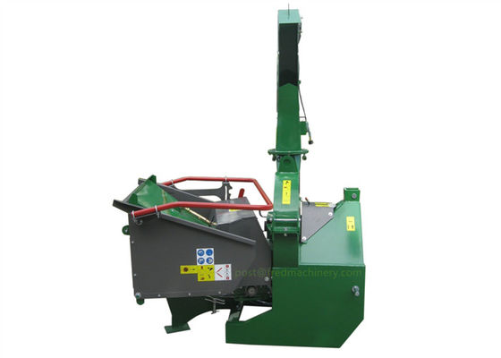 Self - Contained Oil Tank Hydraulic Driven Wood Chipper 7 Inches CE Approved