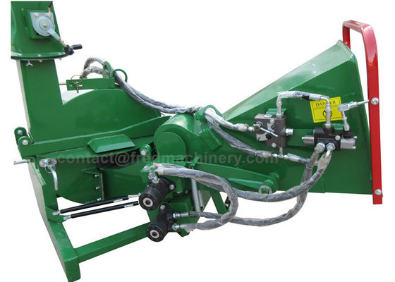 Hydraulic 3 Point Wood Chipper With 20 - 50HP Tractor 4 Cutting Knives