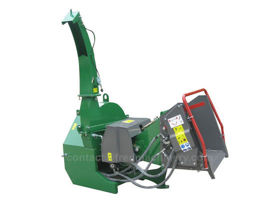 Heavy Duty 3 Point Chipper Shredder With 360 Degree Discharge Chute For 40 - 100HP Tractor