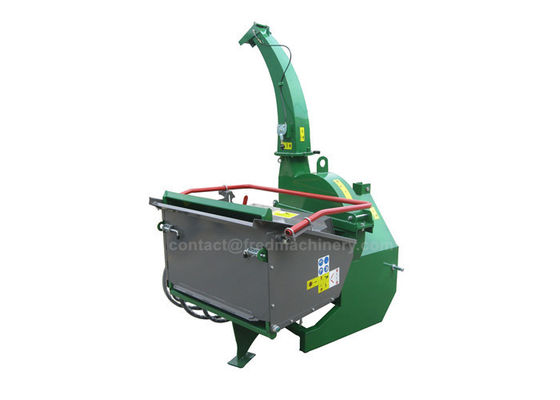 Green 40 - 100HP Tractor Wood Chipper Double Horizontal Rollers